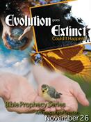 Evolution Goes Extinct Custom Handbill