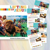 Lifting Up Jesus Bible Study Complete Set - Kids