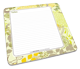 Green Floral Memo Mouse Pads