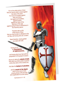 Armor of God Pocket Folder Standing Armor (5 pack)