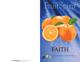 Fruit of the Spirit Bulletin Covers-Faith (100 Pack)