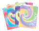 Swirls Scrap Booking Art Paper Pack - 8.5x11