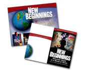 New Beginnings Handbill Imprint (100 Pack)