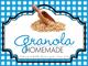 Gingham Quart Labels-Granola