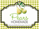 Gingham Pint Labels-Pears